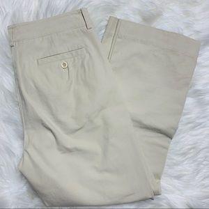 Lilly Pulitzer   Cropped Khaki Pants